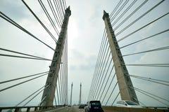 槟榔岛桥梁 图库摄影
