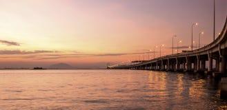 槟榔岛桥梁 免版税库存图片
