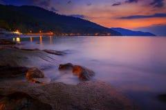 槟榔岛海滩 库存图片