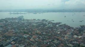 槟榔岛看法  免版税库存图片