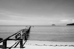 槟榔岛码头 免版税库存照片