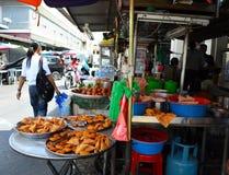槟榔岛街道食物 库存照片