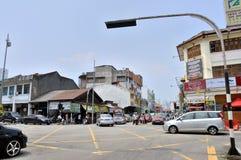 槟榔岛街道  免版税库存图片