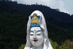 槟榔岛,马来西亚:Kek Lok Si寺庙的菩萨 免版税库存图片