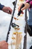 槭树奶糖 库存图片