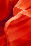 槽孔峡谷砂岩 图库摄影