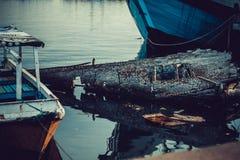 水槽小船 免版税库存照片