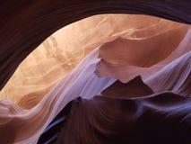 槽峡谷在亚利桑那 免版税图库摄影