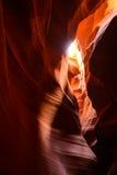 槽峡谷在亚利桑那 免版税库存图片