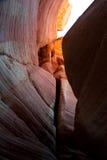 槽峡谷 南犹他,美国 免版税库存图片