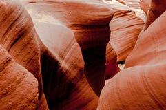 槽峡谷 库存图片