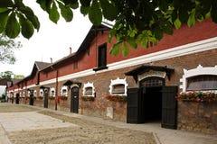 槽枥育马场在Napajedla 免版税库存照片