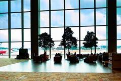 樟宜机场休息室,新加坡 库存照片