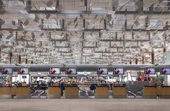 樟宜机场 库存图片