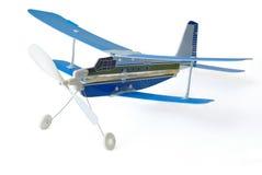 模型双翼飞机 库存照片