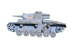 模型坦克 免版税库存照片