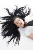 模型姿势时髦的年轻人 免版税图库摄影