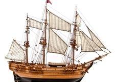 模型帆船 库存照片