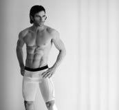 模型性感的内衣 免版税图库摄影