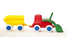 模型拖拉机 免版税图库摄影