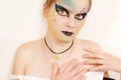 模型时髦的年轻人 图库摄影