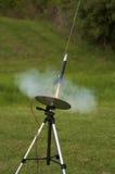 模型火箭 免版税库存照片