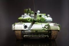 模型缩放比例坦克 免版税库存图片