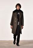 模型走跑道在蒂姆Coppens时装表演在纽约时尚星期人的秋天期间/冬天2016年 库存图片