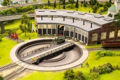 模型铁路 库存图片
