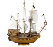 模型风船 库存图片