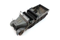 模型18吨半轨德语 免版税库存照片