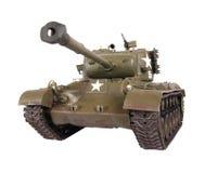 模型pershing的坦克 免版税图库摄影