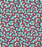 模式三角 免版税库存照片