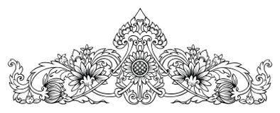 模式向日葵 免版税库存照片