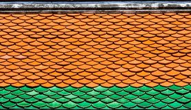 模式屋顶 库存照片