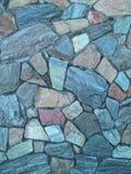 模式岩石墙壁 库存照片
