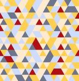 模式无缝的三角 向量背景 皇族释放例证