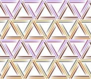 模式无缝的三角 抽象几何 向量例证
