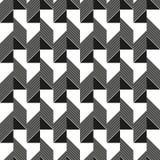 模式无缝的三角 库存图片