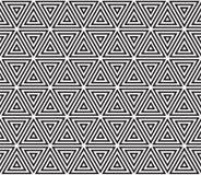 模式无缝的三角 免版税库存图片