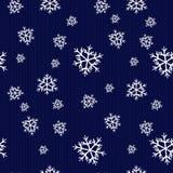 模式无缝的冬天 库存图片