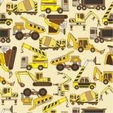 模式无缝的卡车 免版税图库摄影