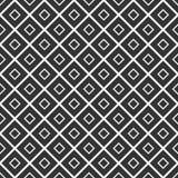 模式无缝的向量 与菱形的几何背景 库存例证