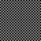 模式无缝的向量 几何纹理 黑白背景 单色正方形&长方形设计 库存例证