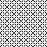 模式无缝的向量 几何纹理 黑白背景 单色设计 库存例证