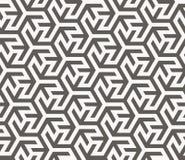 模式无缝的向量 几何纹理 库存图片