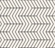 模式无缝的向量 现代时髦的抽象纹理 重复几何瓦片 库存图片