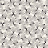 模式无缝的向量 现代时髦的抽象纹理 重复几何瓦片 免版税库存图片