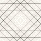 模式无缝的向量 现代时髦的抽象纹理 重复几何 免版税库存照片