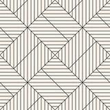 模式无缝的向量 现代时髦的抽象纹理 重复几何 库存图片